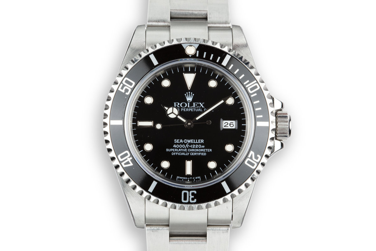 1995 Rolex Sea-Dweller 16600 photo, #0