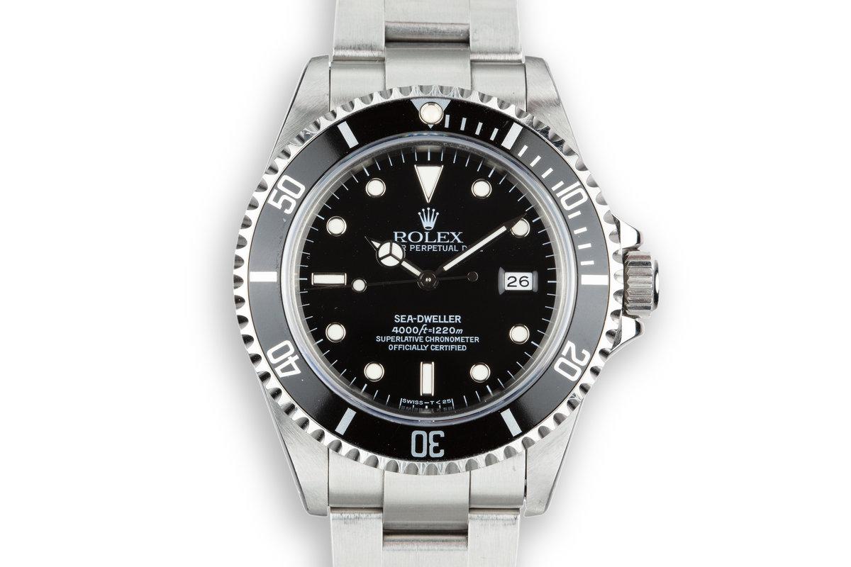 1995 Rolex Sea-Dweller 16600 photo, #0