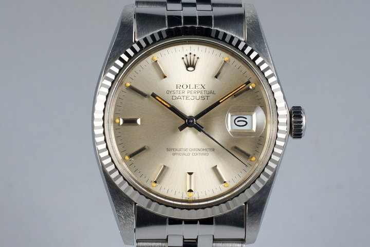 1983 Rolex DateJust 16014 Silver Dial photo