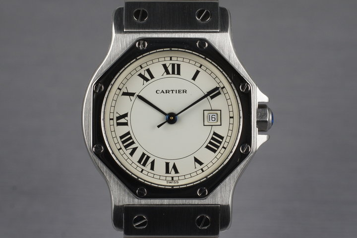 Cartier Santos Octagon photo