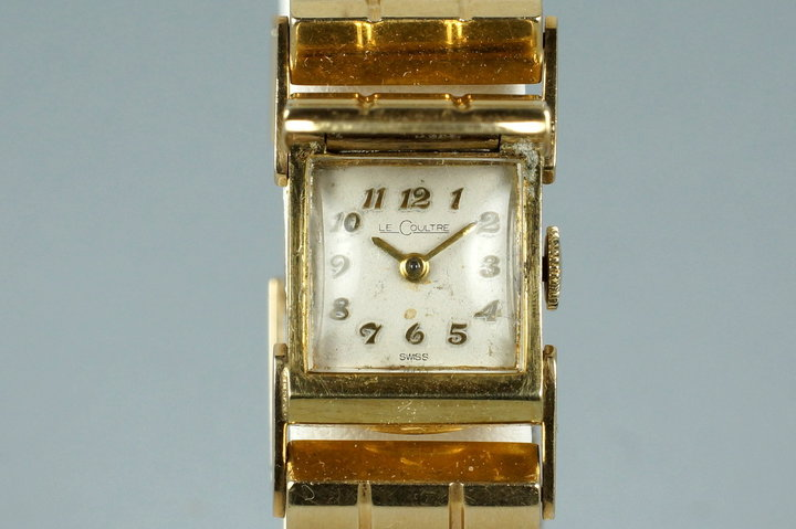 Vintage Ladies LeCoultre 14K YG Watch photo