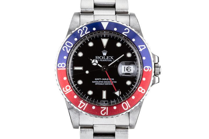 """1984 Rolex GMT-Master 16750 """"pepsi"""" photo"""