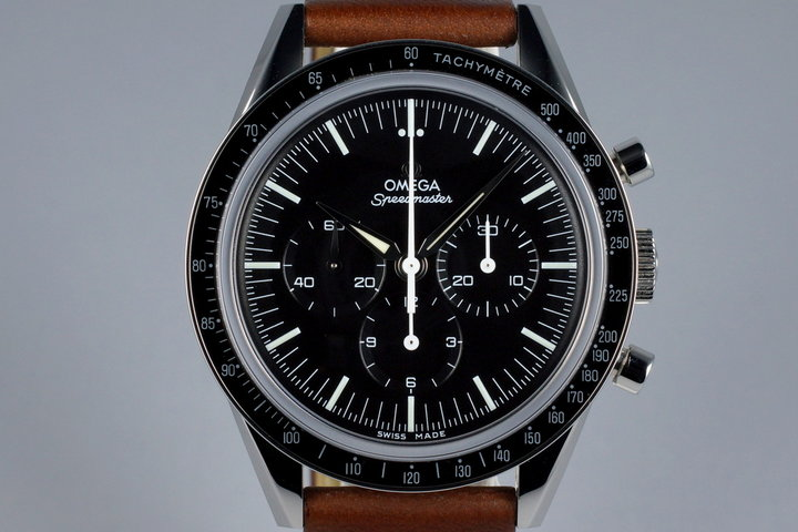 2015 Omega Speedmaster 311.32.40.30.01.001 Ltd 50th Anniversary 'Straight Lug' with Box + Papers photo