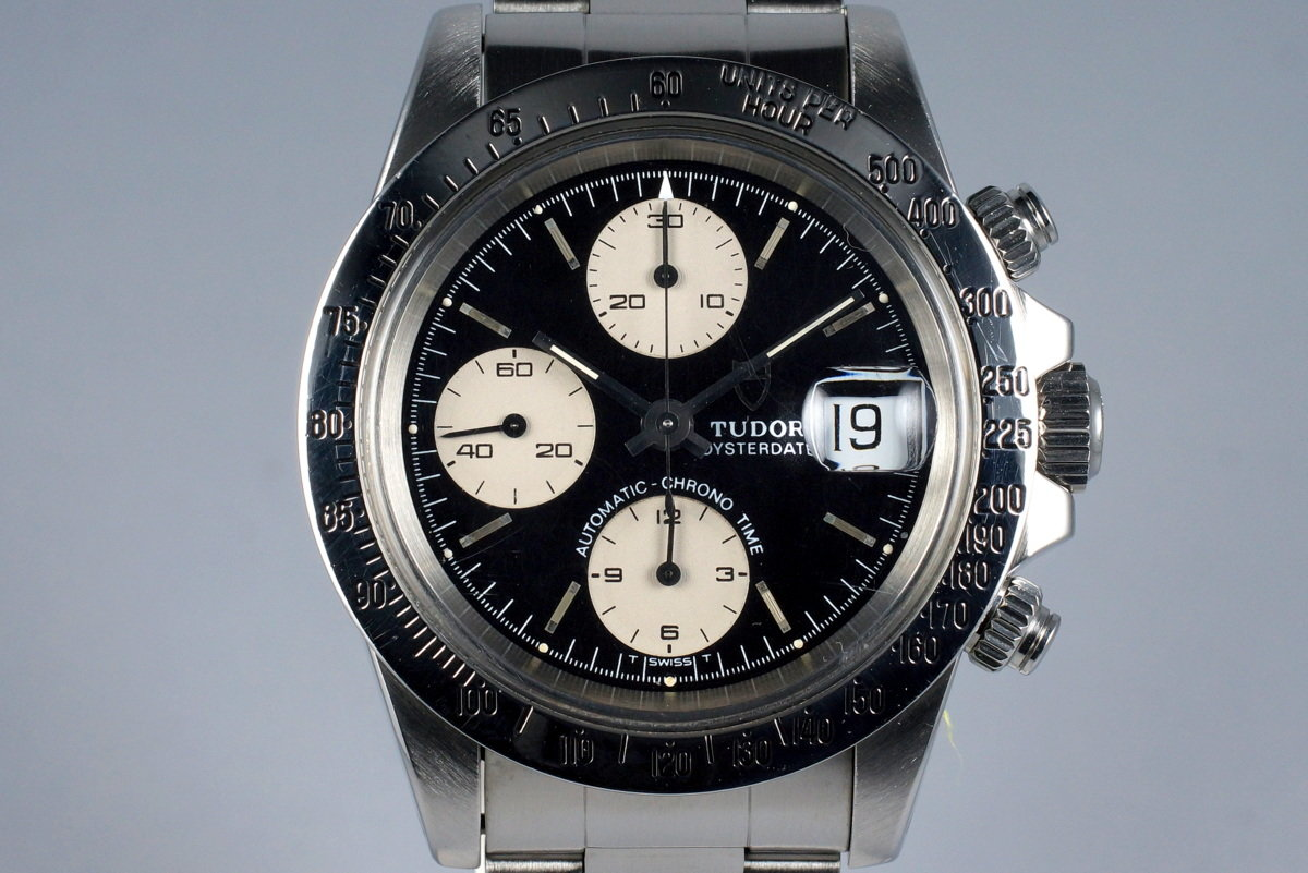 1993 Tudor Chronograph Big Block 79180 Black Dial photo, #0