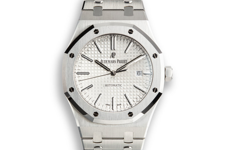 2016 Audemars Piguet Royal Oak 115400ST.OO.1220ST.02 with Box and Papers photo
