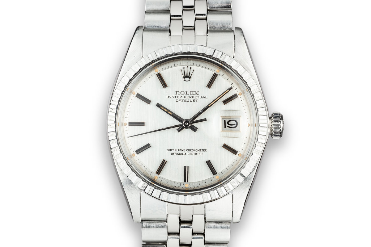 1973 Rolex DateJust 1603 Silver Sigma Dial photo, #0
