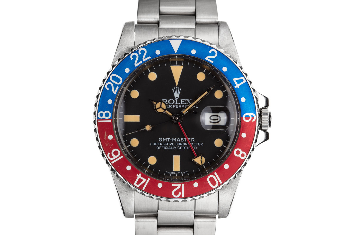 """1983 Rolex GMT-Master 16750 """"Pepsi"""" photo, #0"""