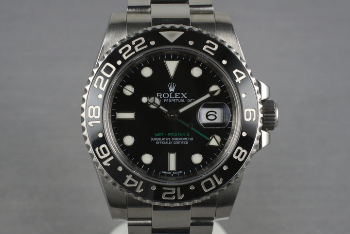2009 Rolex GMT II 116710 photo