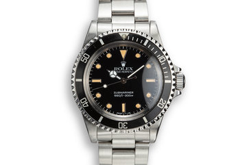 1987 Rolex Submariner 5513 photo