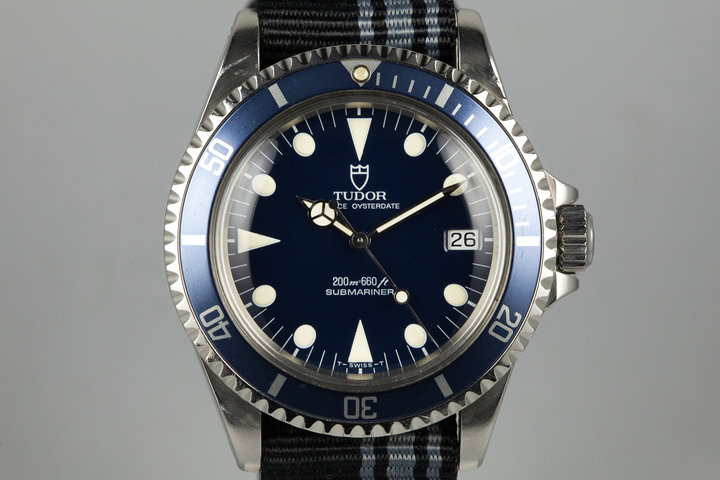 1992 Tudor Submariner 79090 Blue Dial photo