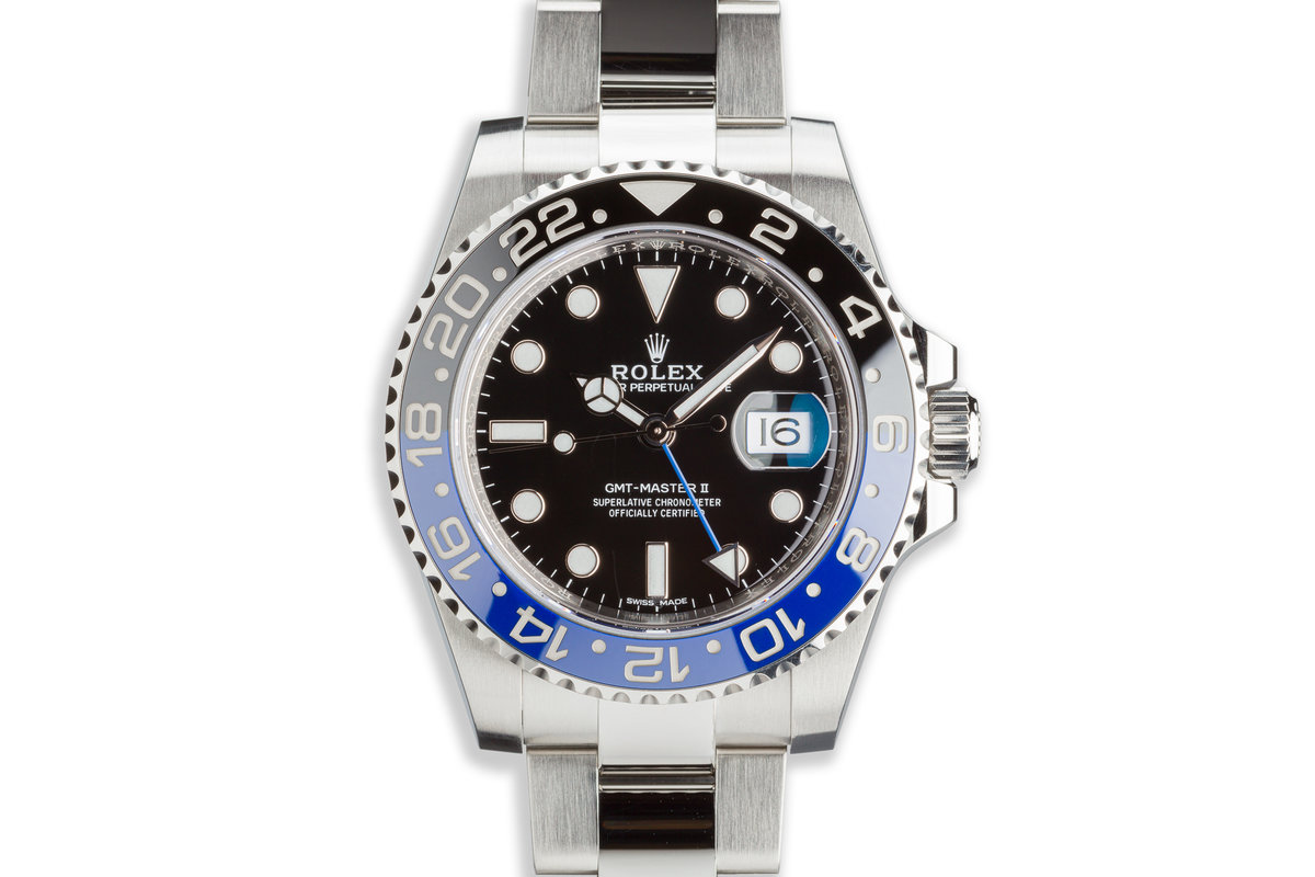 """2018 Rolex GMT-Master II 116710BLNR """"Batman"""" with Box and Card photo, #0"""