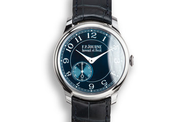 2016 F.P. Journe Chronometre Bleu with Box and Papers photo