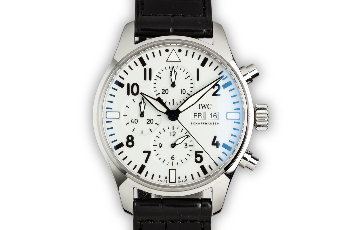 2018 IWC Pilot Chronograph 150 Anniversary Limited model IW377725 photo, #0