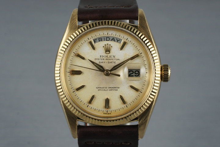 1957 Rolex 18K Day-Date 6611B photo