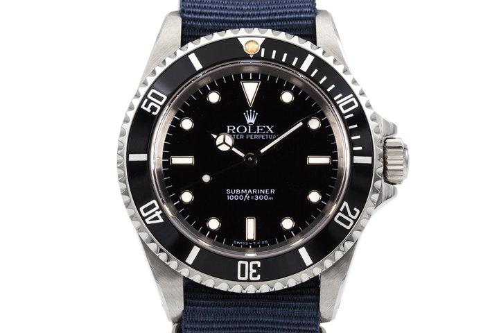1991Rolex Submariner 14060 photo