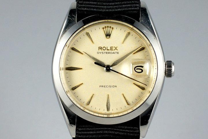1960 Rolex OysterDate 6694 Cream Dial photo