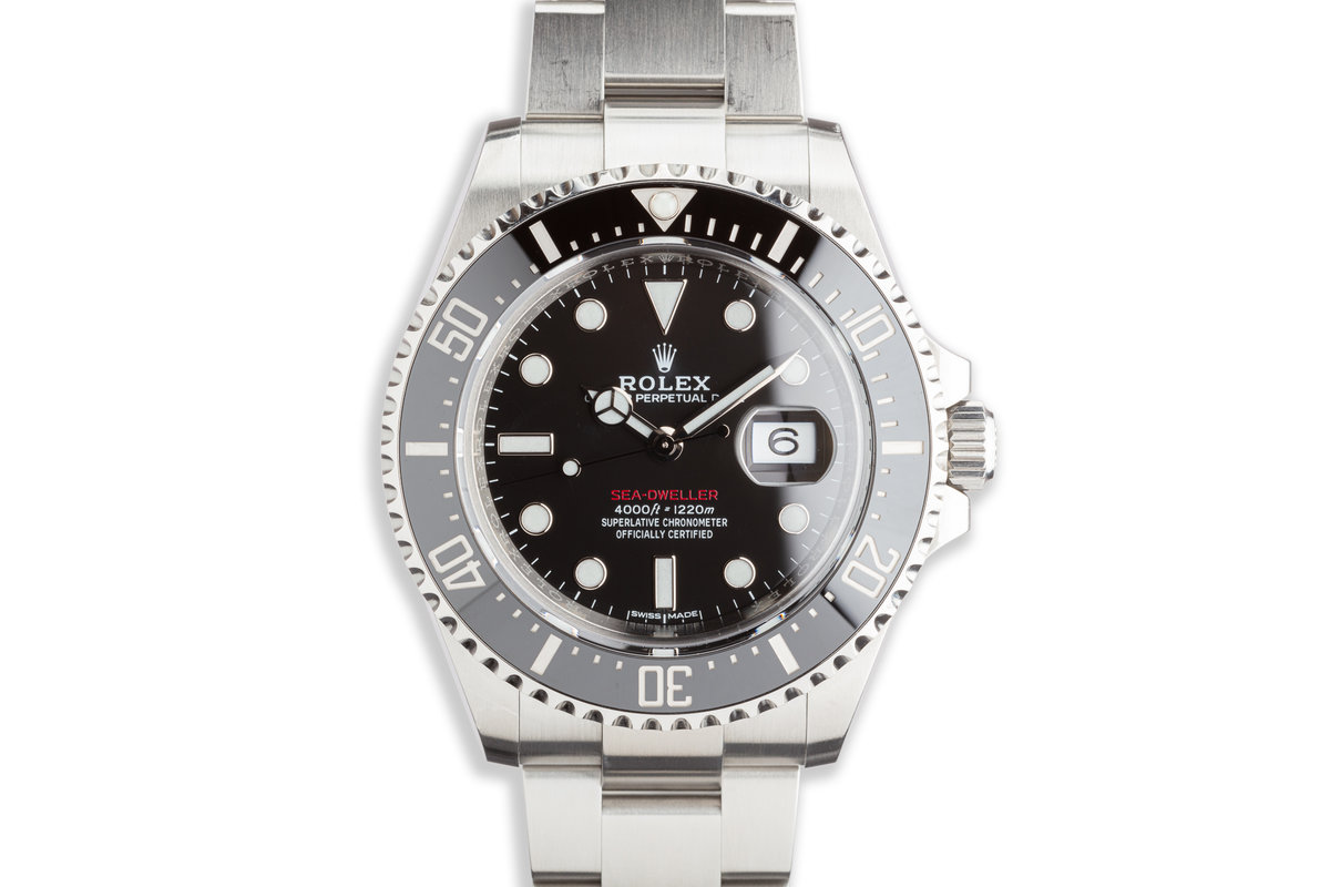 2017 Rolex Red Sea-Dweller 126600 MK I Dial with Box and Card photo, #0