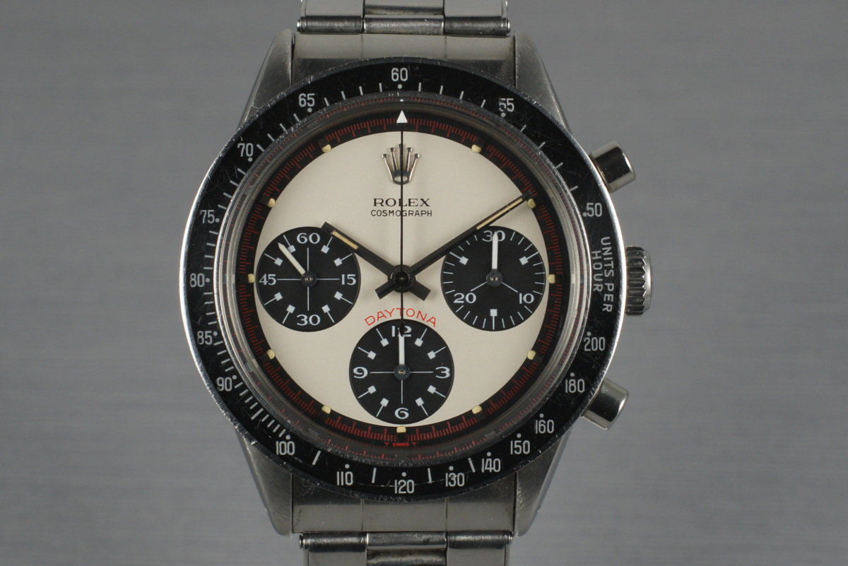 1967 Rolex Daytona 6241 with Paul Newman 3 Color Dial photo, #0