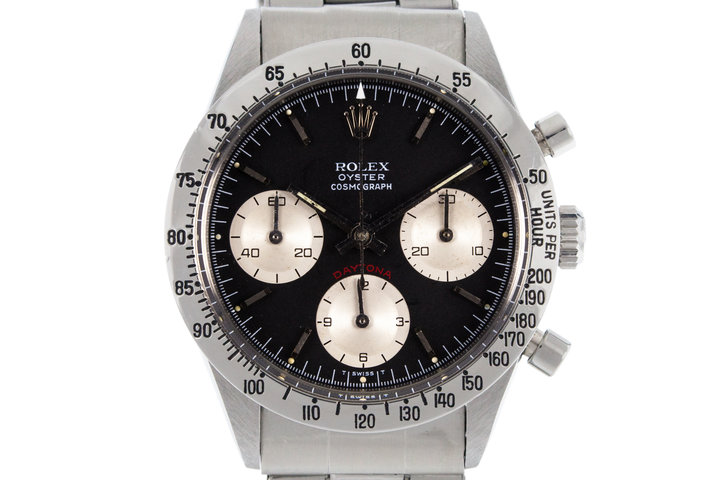1970 Rolex Daytona 6262 with Small Red Daytona Service Dial photo