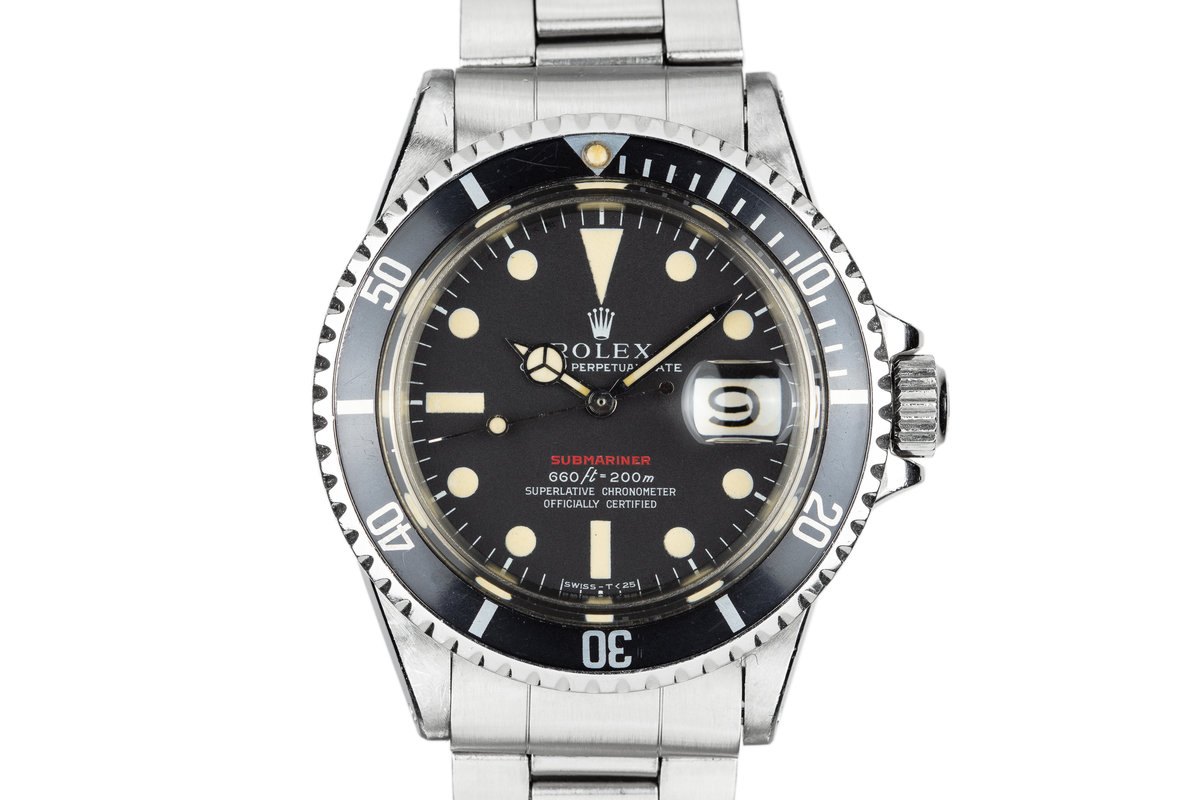 1970 Rolex Red Submariner 1680 with MK V Dial photo, #0