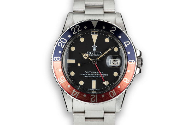 "1983 Rolex GMT-Master 16750 ""Pepsi"" with Papers photo"