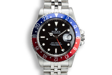 "1984 Rolex GMT-Master 16700 ""Pepsi"" with SWISS Only Dial photo"