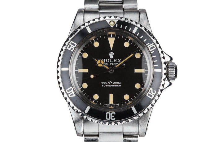 1972 Rolex Comex Submariner 5514 with Serif Dial photo