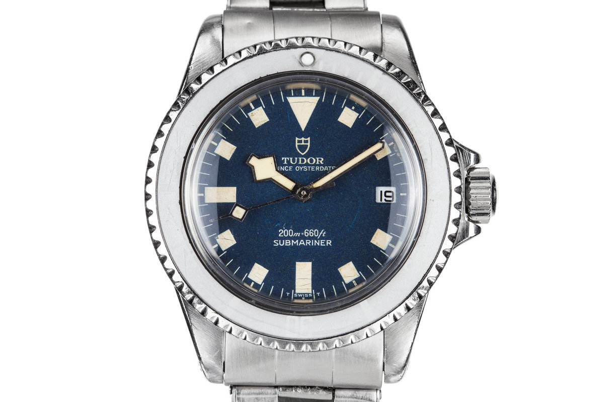 "1968 Tudor Submariner ""Snowflake"" 7021/0. Blue Dial with Ghost Bezel photo, #0"