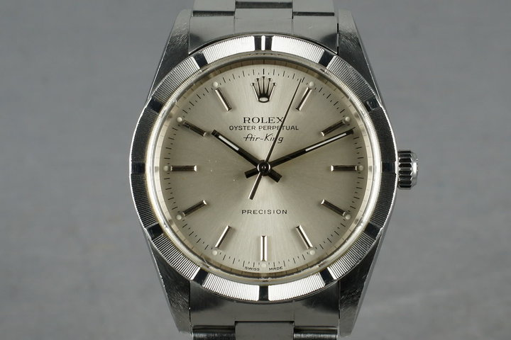 2001 Rolex Air-King 14010 with Papers photo