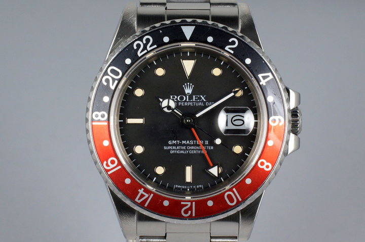 1987 Rolex Fat Lady GMT 16760 with Box photo