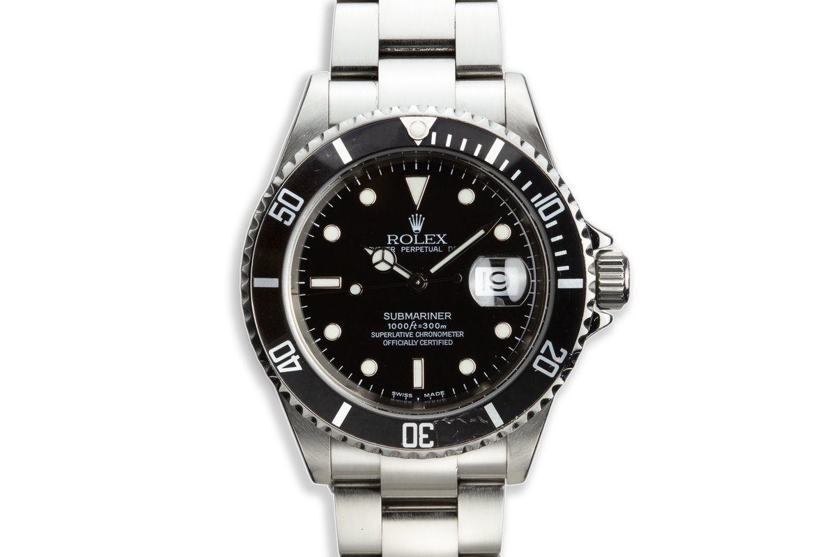 2003 Rolex 16610 Submariner photo, #0