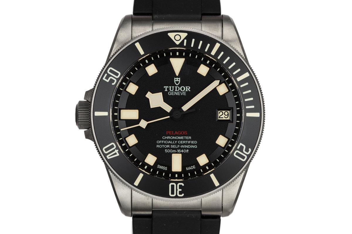 2016 Titanium Tudor Pelagos LHD 25610TNL with Box and Papers photo, #0