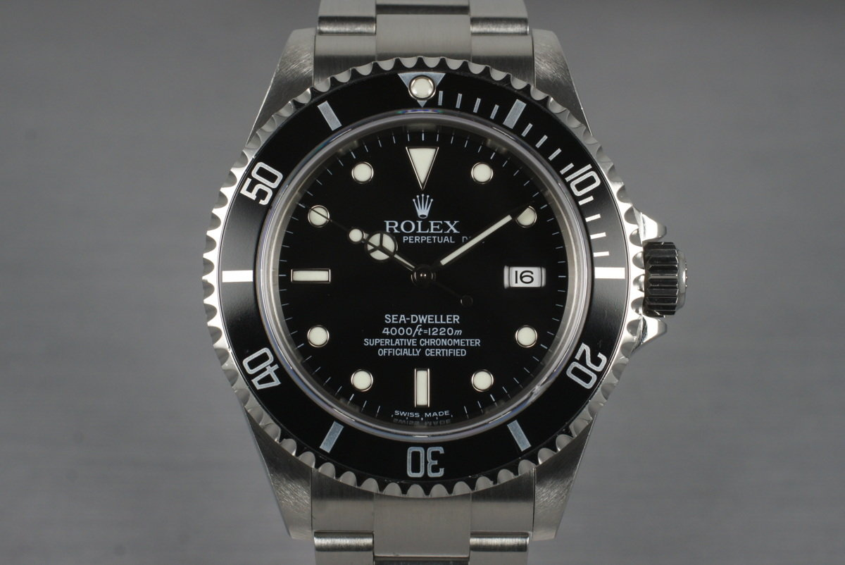 2003 Rolex Sea Dweller 16600T photo, #0