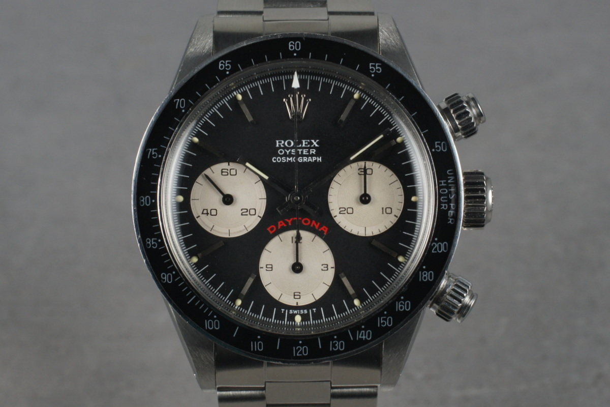 1978 Rolex Big Red Daytona 6263 with Black Dial photo, #0