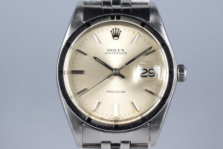 1972 Rolex OysterDate 6694 Silver Dial photo