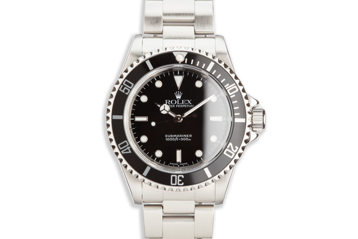 1999 Rolex Submariner 14060 with Box and Papers photo