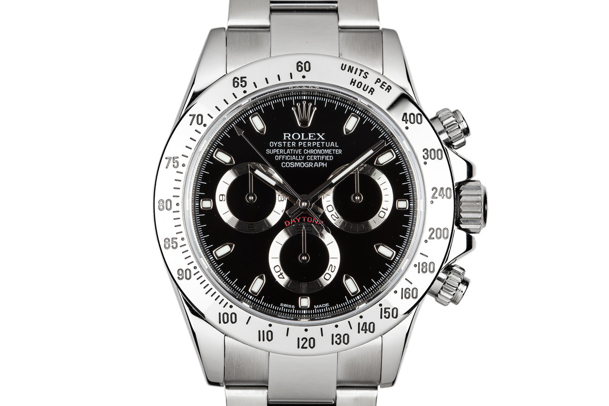 2010 Rolex Daytona 116520 Black Dial with Box and Papers photo, #0
