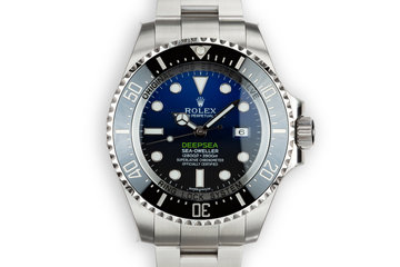 2015 Mint Rolex DeepSea Sea-Dweller 116660 Previously Owned by Reggie Jackson with Box and Papers photo