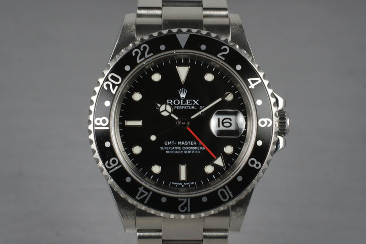 2005 Rolex GMT II 16710T Box and Papers photo