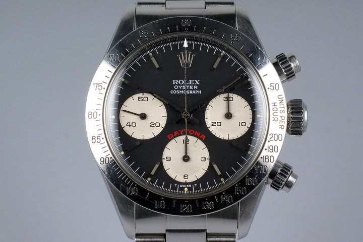 1979 Rolex Daytona 6265 Black Big Red Daytona Dial photo
