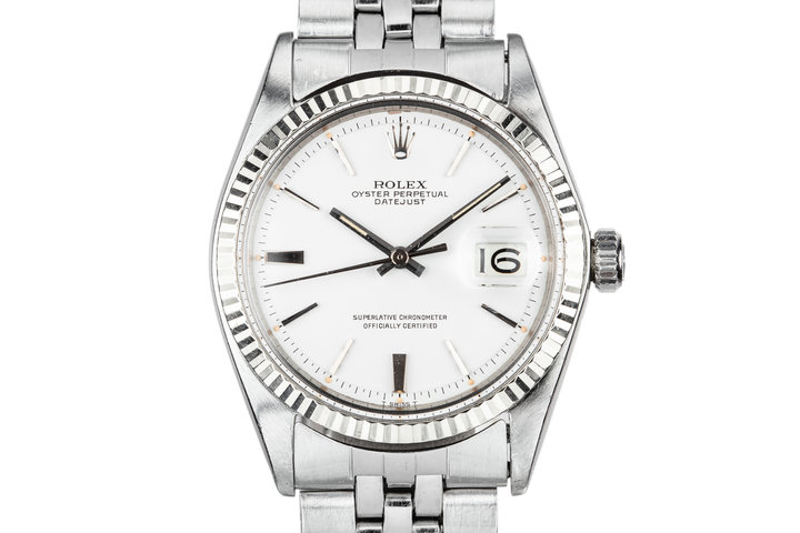 1968 Rolex DateJust 1601 White Dial photo