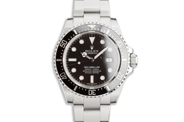 2014 Rolex Sea-Dweller 116600 with Box & Card photo