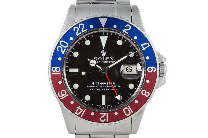 1968 Rolex GMT 1675 photo