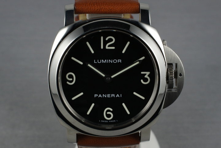 2004 Panerai Luminor PAM 112 with Box and Papers photo