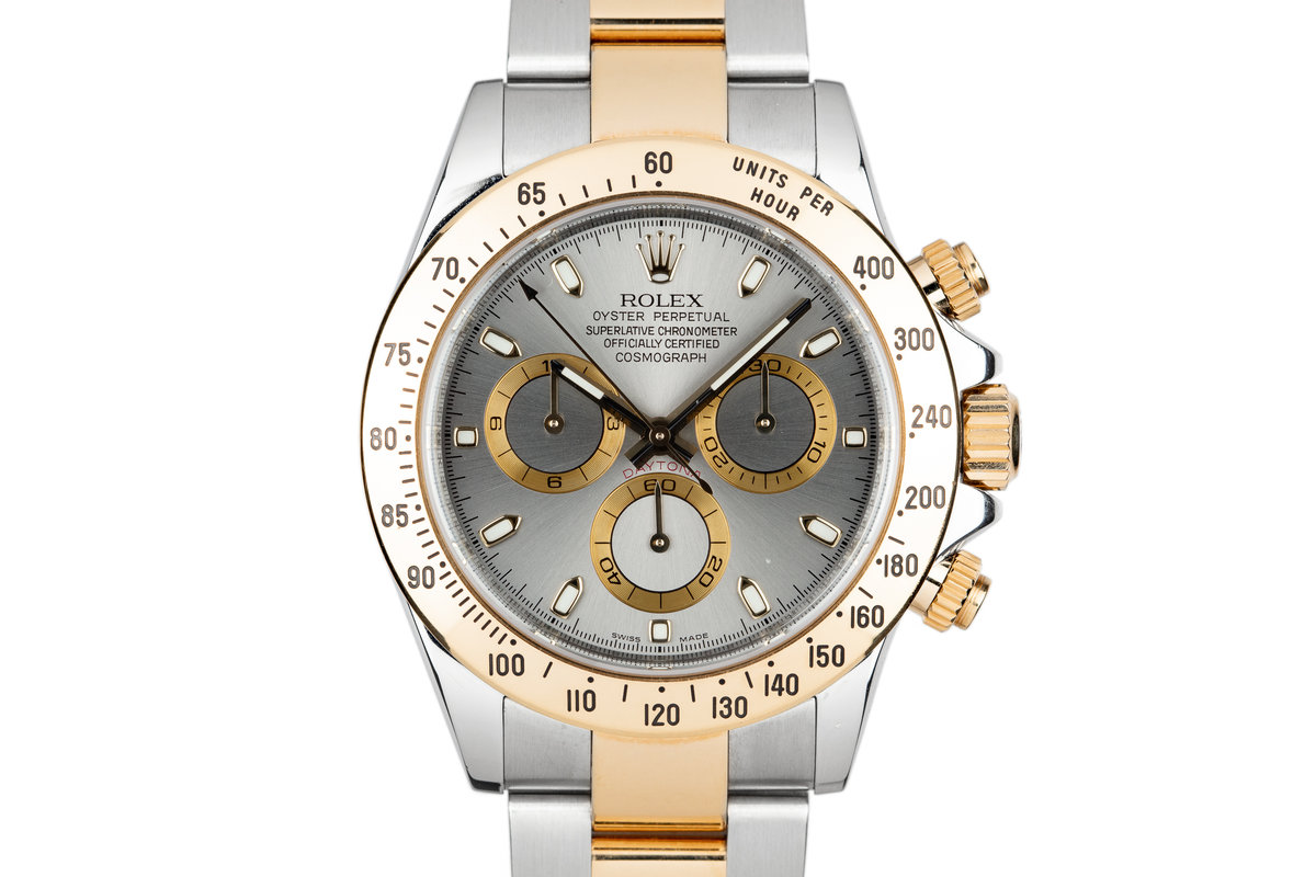 2006 Rolex Two Tone Daytona 116523 Grey Dial photo, #0