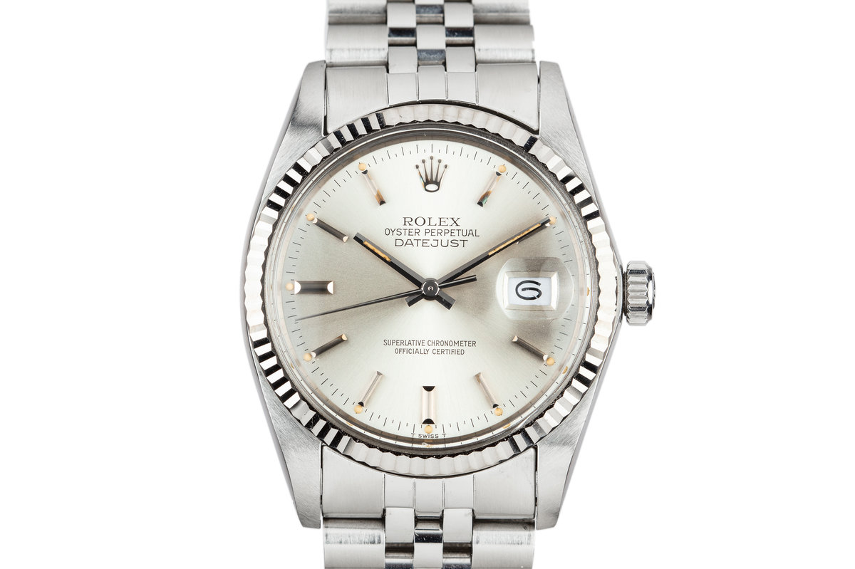1980 Rolex DateJust 16014 Silver Dial photo, #0