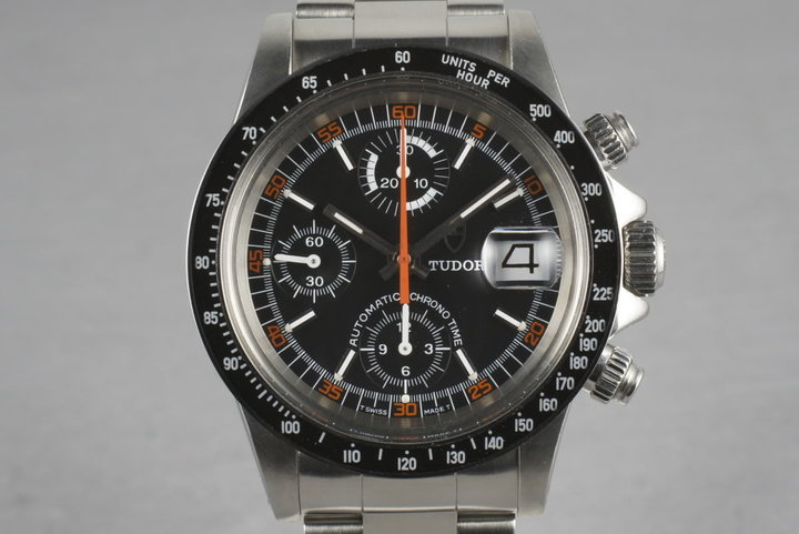 Tudor Chronograph Big Block  94200 3 Register Monte Carlo photo
