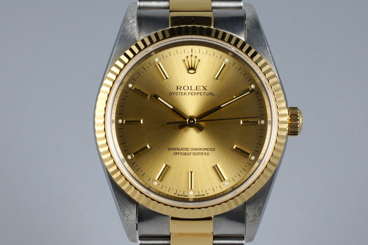1995 Rolex Two Tone Oyster Perpetual 14233 photo, #0