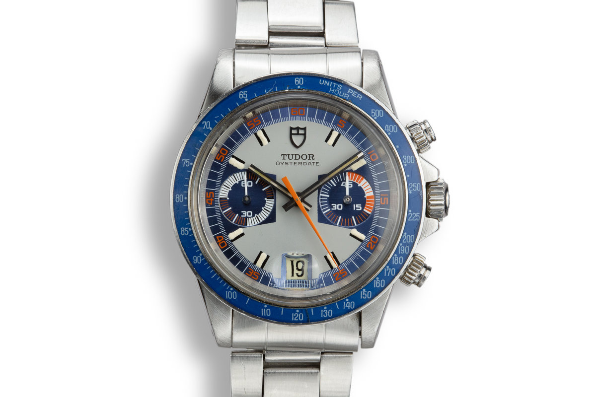 1976 Tudor Monte Carlo 7149/0 Blue Dial photo, #0