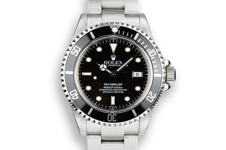 1999 Rolex Sea-Dweller 16600 SWISS Only Dial photo